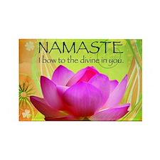 Namaste-Rectangle Magnet Magnets