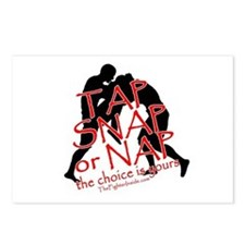 TAP SNAP OR NAP, THE CHOICE I Postcards (Package o