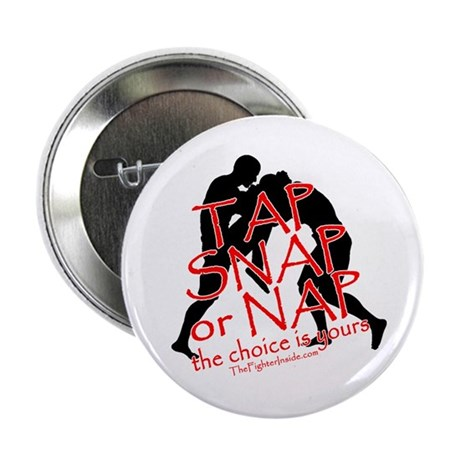 """TAP SNAP OR NAP, THE CHOICE I 2.25"""" Button (10 pac"""