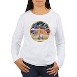 XmasStar/Chihuahua #1 Women's Long Sleeve T-Shirt