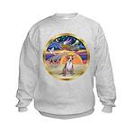 XmasStar/Chihuahua #1 Kids Sweatshirt