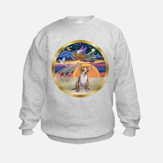 XmasStar/Chihuahua #1 Sweatshirt
