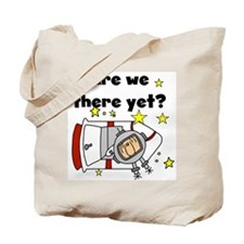 There Yet Astronaut Tote Bag