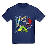Agility Kids T-shirts (Dark)