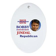 Bobby Jindal 2012 Oval Ornament