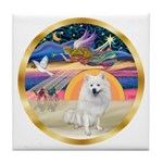 XmasStar/Am Eskimo #1 Tile Coaster