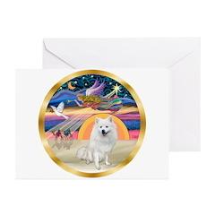 XmasStar/Am Eskimo #1 Greeting Cards (Pk of 10)