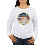 XmasStar/Am Eskimo #1 Women's Long Sleeve T-Shirt