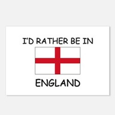 I'd rather be in England Postcards (Package of 8)