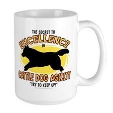 Secret Cattle Dog Agility Mug