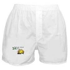 ask about my yule log Boxer Shorts
