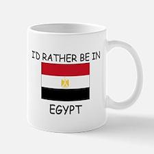 I'd rather be in Egypt Mug