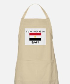 I'd rather be in Egypt BBQ Apron