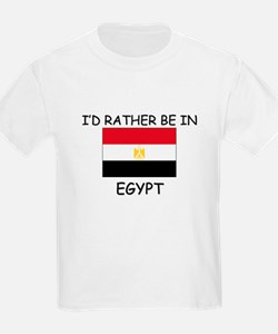 I'd rather be in Egypt T-Shirt