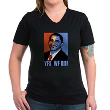 Obama: Yes We Did! Shirt