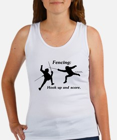 Hook Up and Score Women's Tank Top