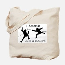 Hook Up and Score Tote Bag
