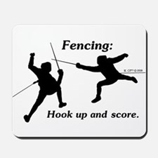 Hook Up and Score Mousepad
