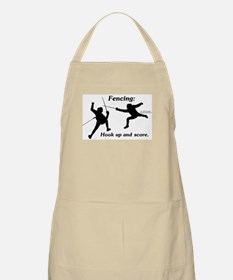Hook Up and Score BBQ Apron