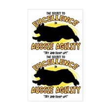 The Secret to Aussie Agility Sticker (2 in 1)