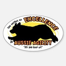 The Secret to Aussie Agility Oval Decal