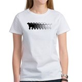 Black labrador Women's T-Shirt