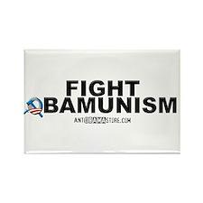 FIGHT OBAMUNISM Rectangle Magnet