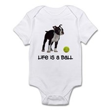 Boston Terrier Life Infant Bodysuit