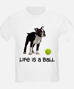 Boston Terrier Life T-Shirt