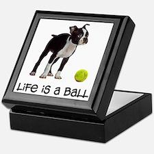 Boston Terrier Life Keepsake Box