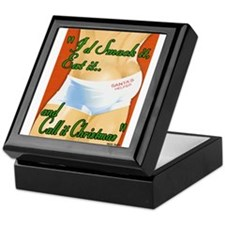 call it christmas Keepsake Box