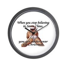 you get underwear Wall Clock