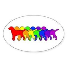 Rainbow Labradors Decal