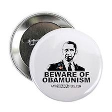"Beware Obamunism 2.25"" Button (10 pack)"