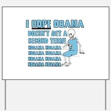 Obama's Socialized Medicine Yard Sign