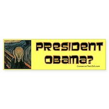 """""""Oh No, Obama"""" Bumper Bumper Sticker"""