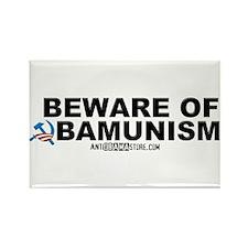Beware Obamunism Rectangle Magnet