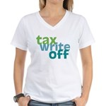 Tax Write Off Women's V-Neck T-Shirt
