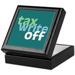 Tax Write Off Keepsake Box