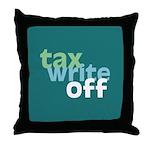 Tax Write Off Throw Pillow