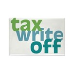 Tax Write Off Rectangle Magnet (10 pack)