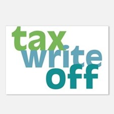 Tax Write Off Postcards (Package of 8)