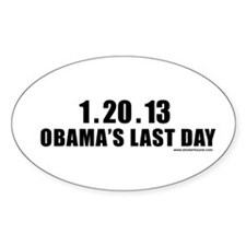 1.20.13 Obama's Last Day Oval Decal
