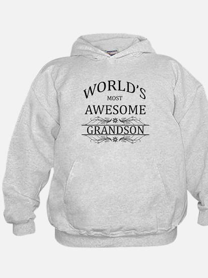 World's Most Awesome Grandson Sweatshirt