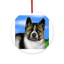 AKITA DOG Ornament (Round)