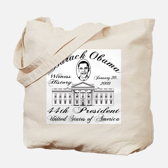 President Obama inauguration Tote Bag