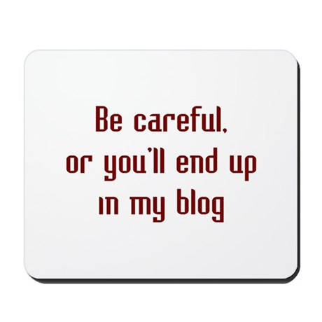In My Blog Mousepad