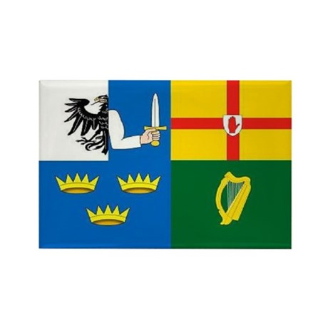"""The Four Provinces Flag"" Rectangle Magnet"