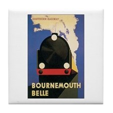 Bournemouth England Tile Coaster