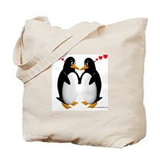 Penguin Lovers Tote Bag